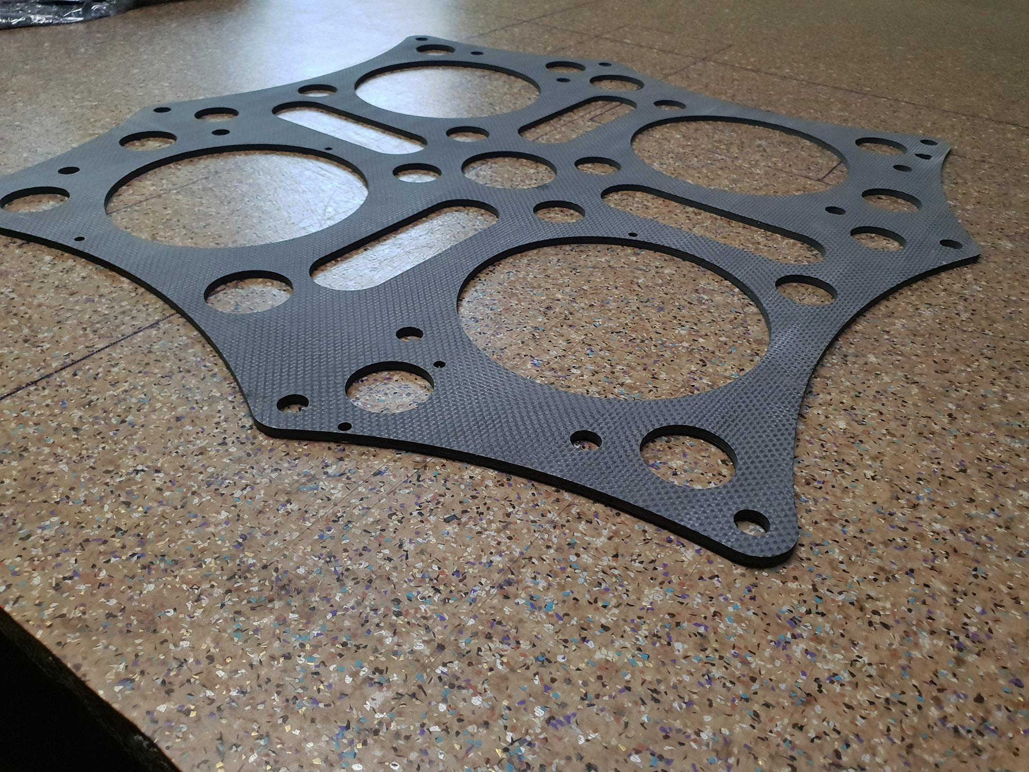 carbon fiber sheet machining matt side