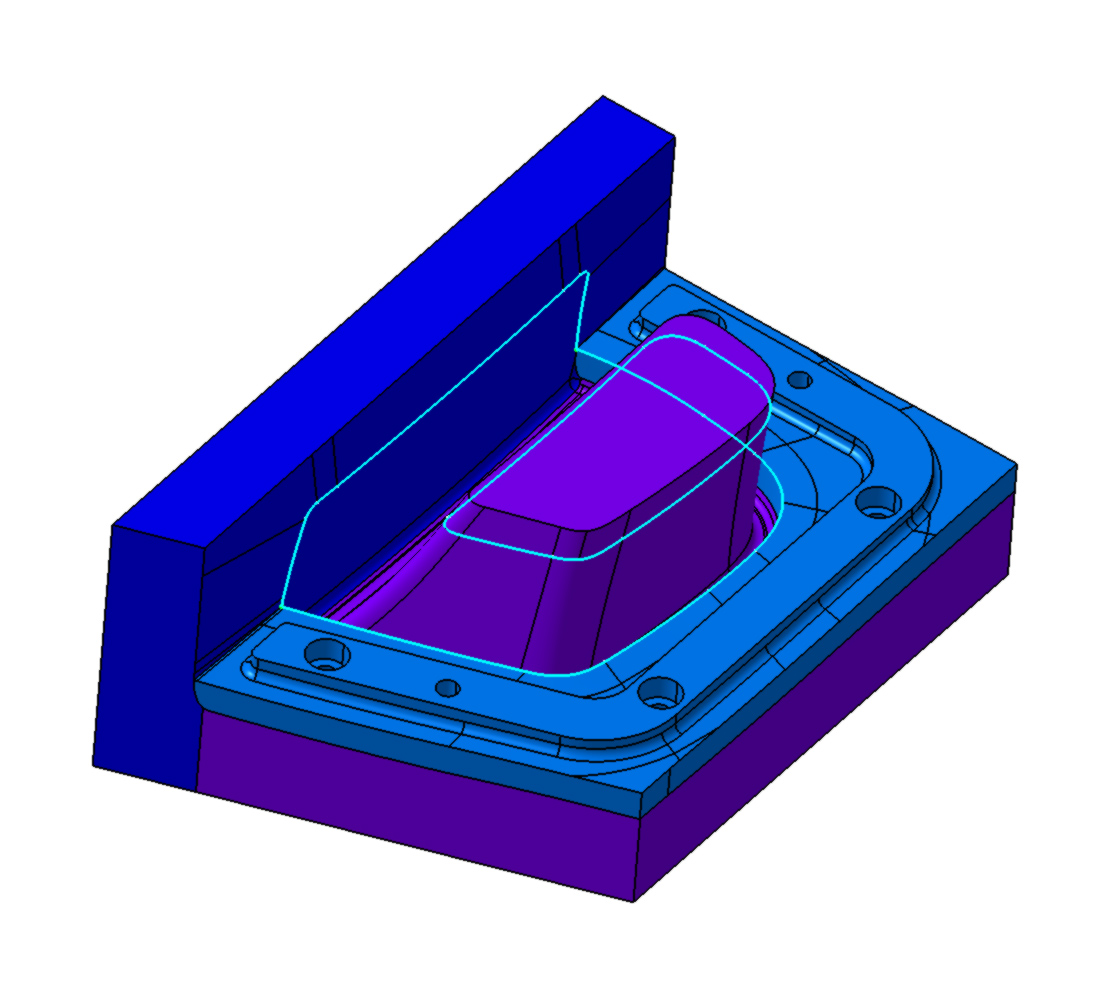 Carbon fiber 3d project design, moulds for prepreg carbon fiber